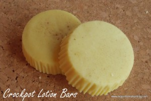 crockpot lotion bars