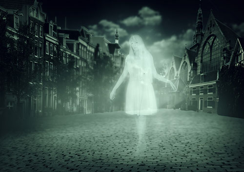 bigstock-Woman-Ghost-Walking-Down-Old-T-57686933