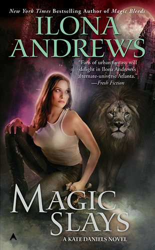 Book Cover: MAGIC SLAYS
