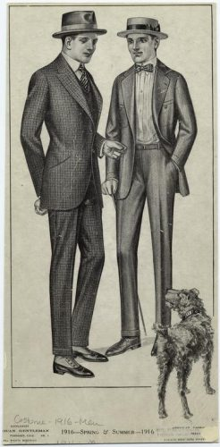 1916 mens fashion