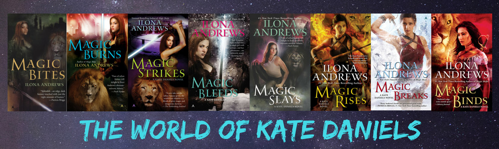 Banner with covers of KD series