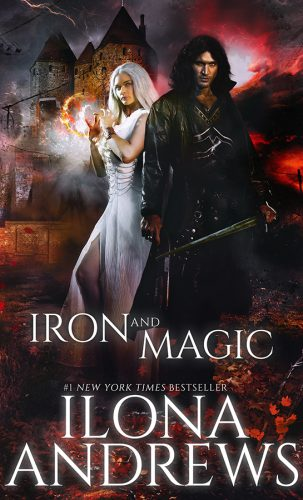 Cover for Iron and Magic